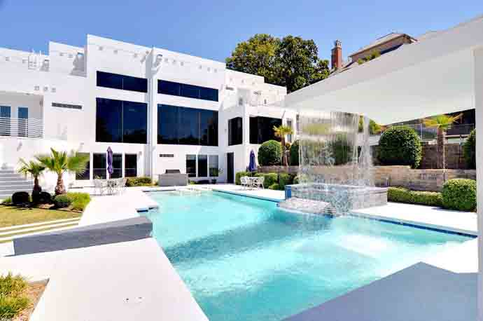 Luxurious Waterfall Mansion in Dallas, Texas for Sale   DesignRulz.com