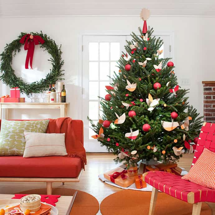 How To Decorate A Beautiful Christmas Tree  Designrulz X Mas Tree 001