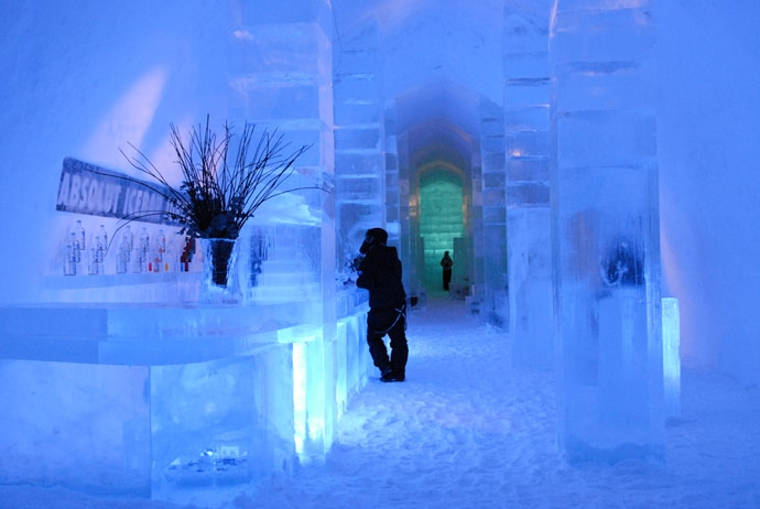 unique ice hotel in sweden every year the ice hotel is different. Black Bedroom Furniture Sets. Home Design Ideas