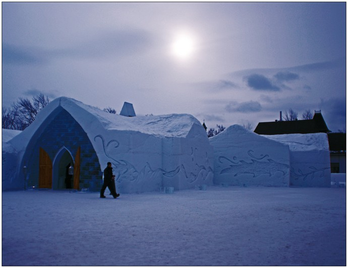 Unique Ice Hotel In Sweden Every Year The Ice Hotel Is