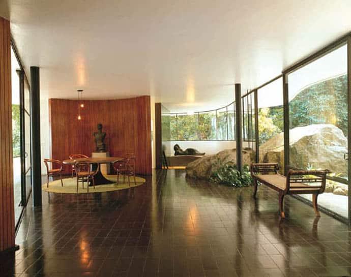 Oscar Niemeyer S Casa De Canoas Rio De Janeiro Brazil