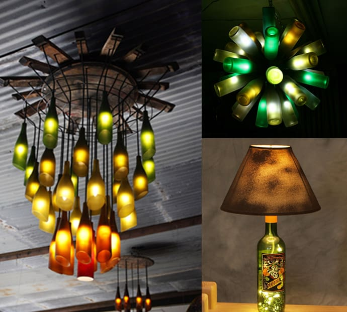 20 ideas of how to recycle wine bottles wisely for Wine bottle material