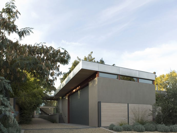Modern House With L Shaped Architecture Design In California By Butler Armsden Architects