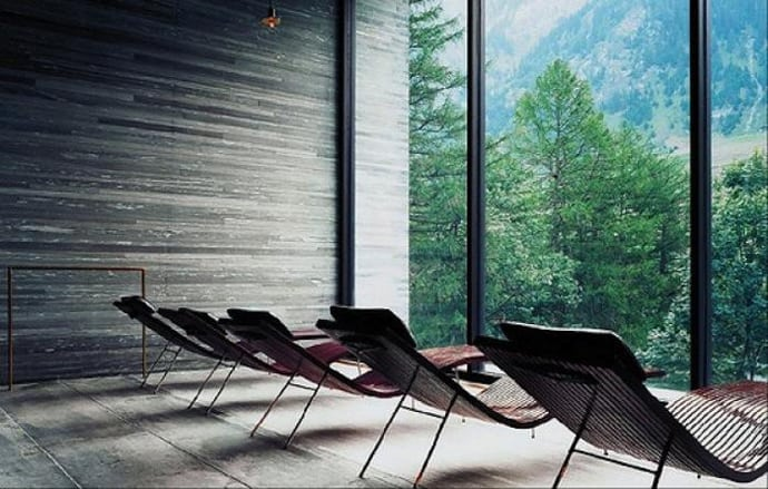 Thermal Baths in Vals by Peter Zumthor (video) on chaise recliner chair, chaise sofa sleeper, chaise furniture,