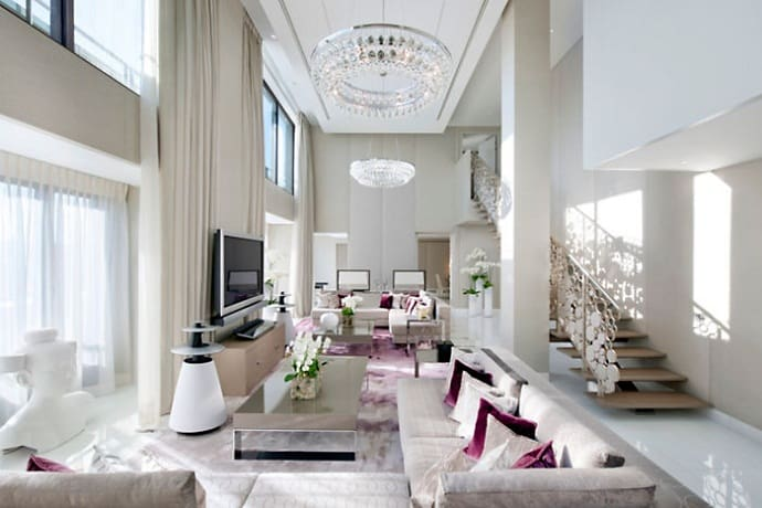 Mandarin oriental hotel modern luxury design in the heart for Arredamento stile parigino