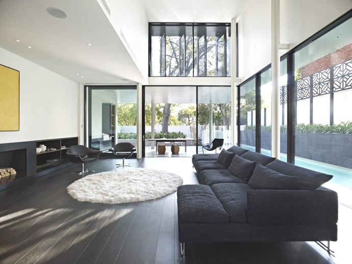Luxurious Contemporary Family Home by Robert Mills Architects ...
