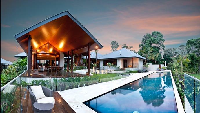 Tropical Pool House By Soul Space Studio In Ridgewood Australia