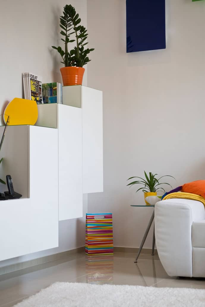 Colorful Apartment In Budapest Hungary