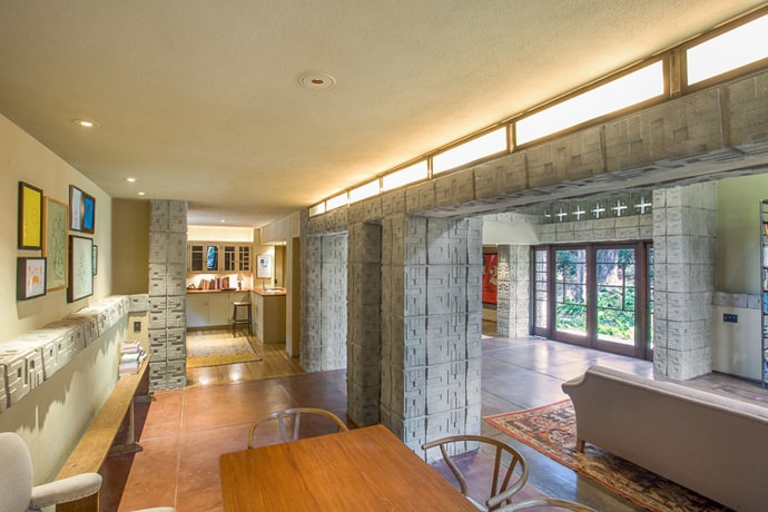 Frank Lloyd Wrights Millard House For Sale