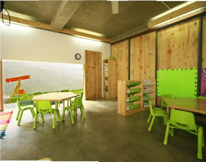 Classroom Design For Kinder ~ Modern kindergarten in jakarta indonesia