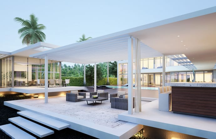 Home For Sale 32 Million For A Modern Residence On Miami