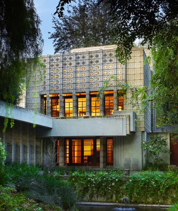 Frank Lloyd Wright - Nhà Millard