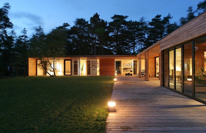 Bergman Werntoft House by Johan Sundberg