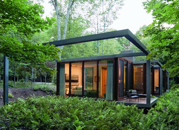 Dutchess County Residence Guest House In The Forest By