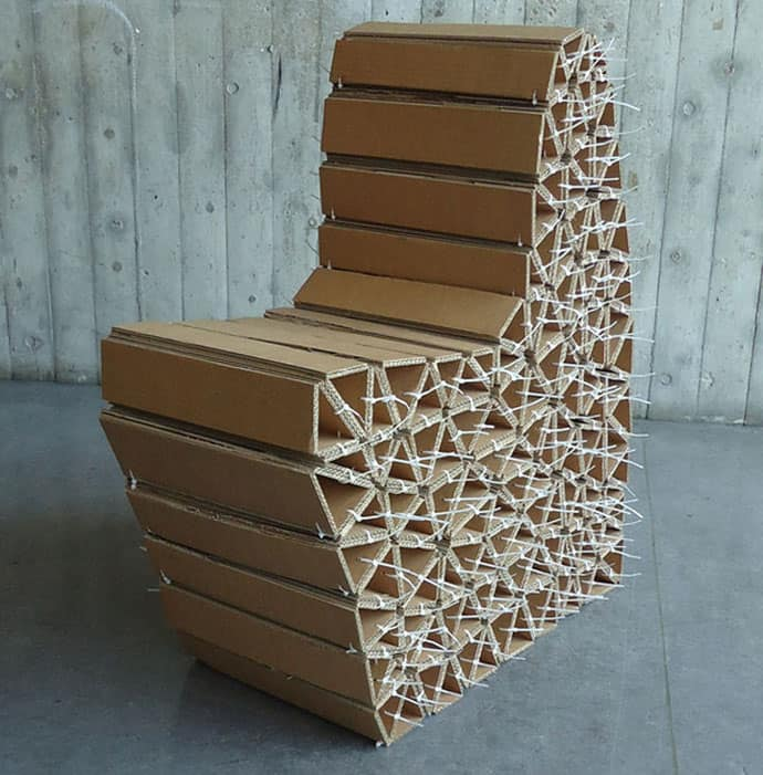 100 Recyclable Cardboard Makes The Cheapest Pieces Of