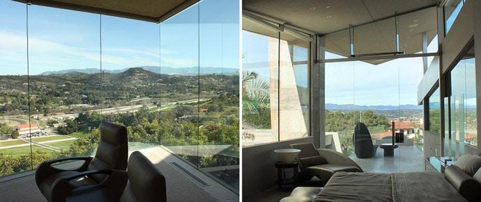 Modern Glass House By Guy Dreier California