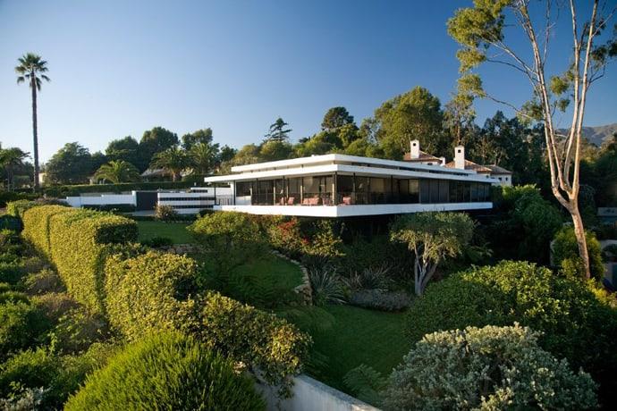 Beautiful modern house in santa barbara for World s most modern house