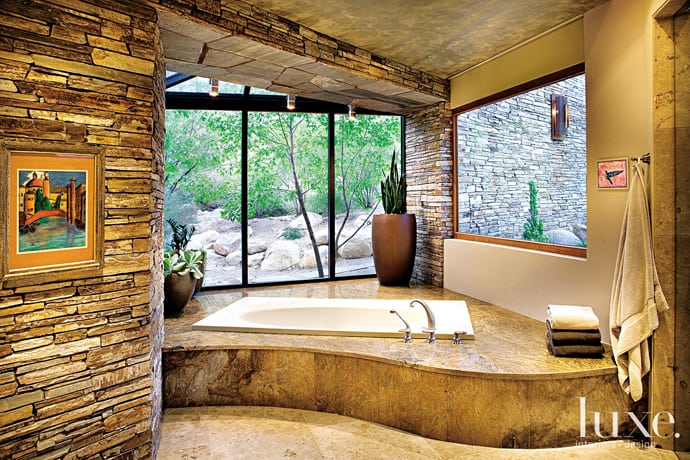 23 Natural Bathroom Decorating Pictures: 40 Amazing Bathroom Designs That Fused With Nature