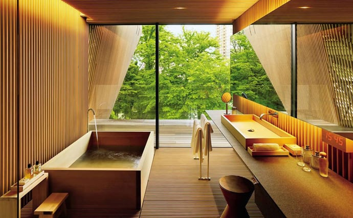Japanese Spa Inspired Bathroom