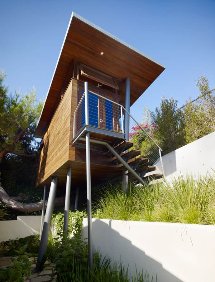 Contemporary Banyon Treehouse California - Contemporary banyon treehouse california