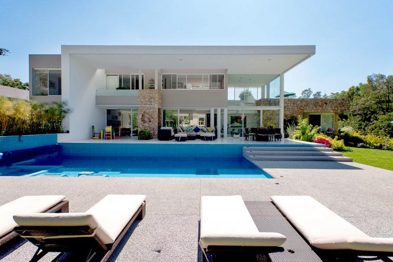 modern casa del viento  mexico