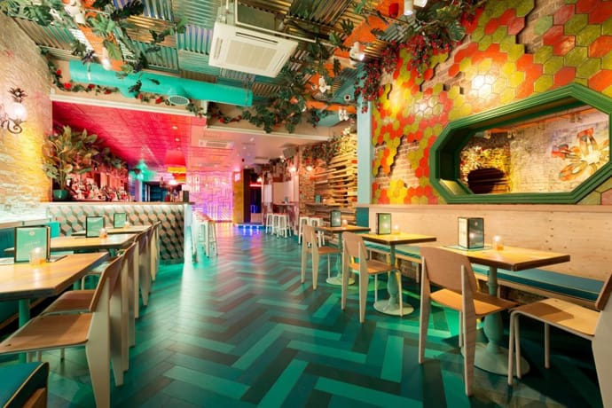 Barrio East Bar Colourful Quirky Interiors And Delicious