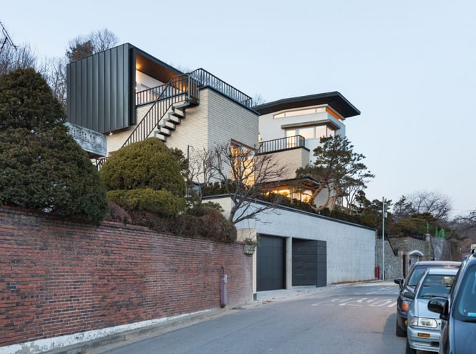 Modern Naegok V House In Seoul Korea