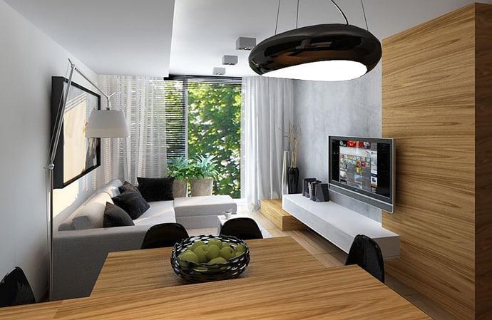 A 60 M 178 Stylish Apartment By Ad Design Studio Poland