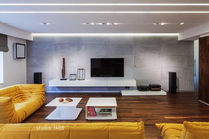 Contemporary Apartment Design by Studio 1408, Bucharest