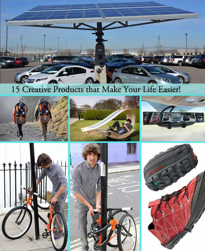 15 Creative Products that Make Your Life Easier!