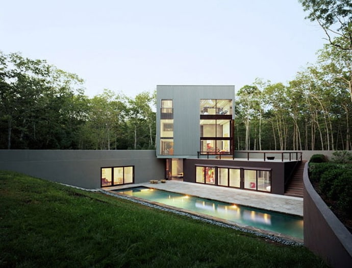 cubic house-designrulz-001 ... & Sagaponac House - Minimalist Residence with Superb Outside Swimming Pool
