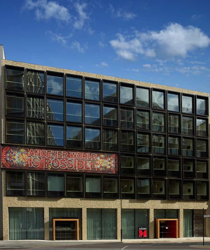 Contemporary Hotel Citizenm London Bankside By Concrete