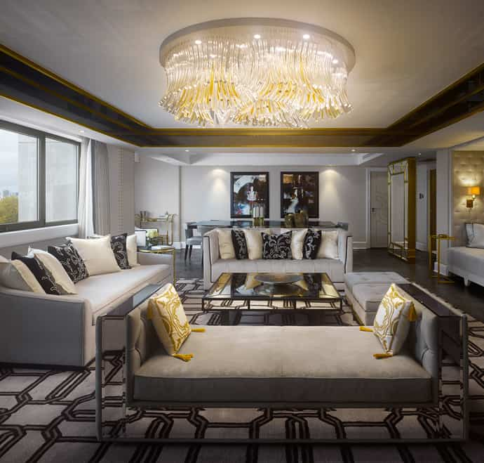 Home Interiors Puerto Rico: Royal Suite In London Inspired By The Style Of Queen