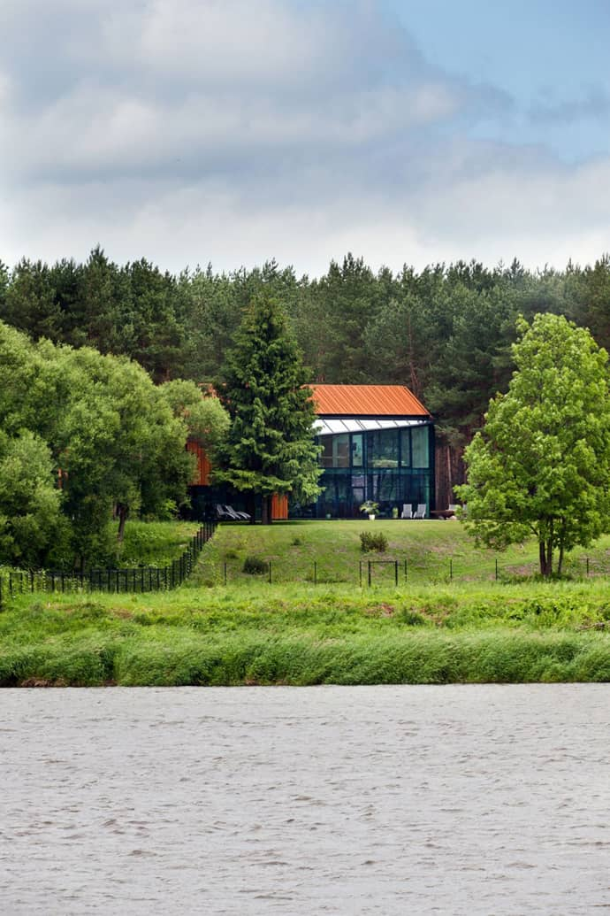 House In The Woods Of Kaunas Lithuania Studija