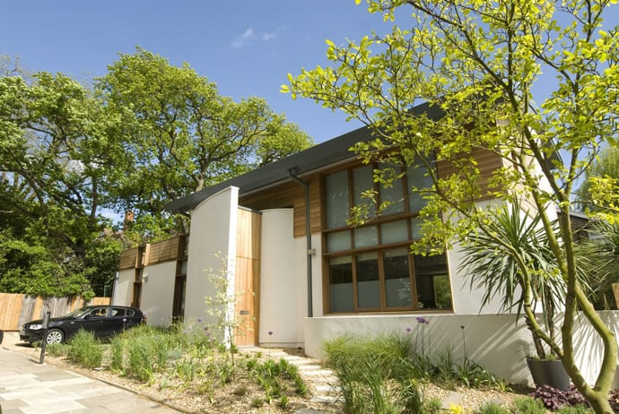 Eco Friendly Contemporary House North London Eco House By Shh