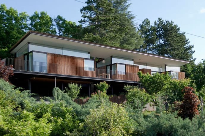 Secluded Embrun House Surrounded By Trees From All Sides