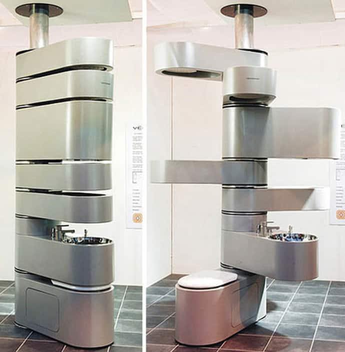 Delicieux Hidden Bathroom Designrulz  002