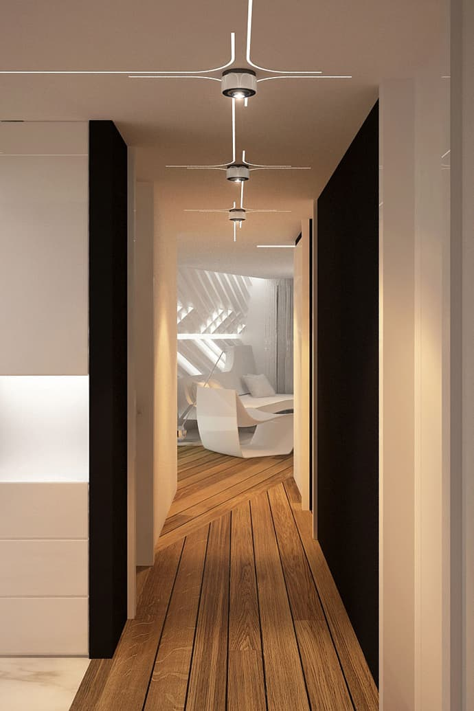 Private Home with Ultra-modern Interior Design by Bozhinovski Design