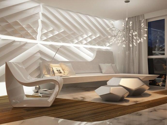Home with Ultra-modern Interior Design by Bozhinovski Design