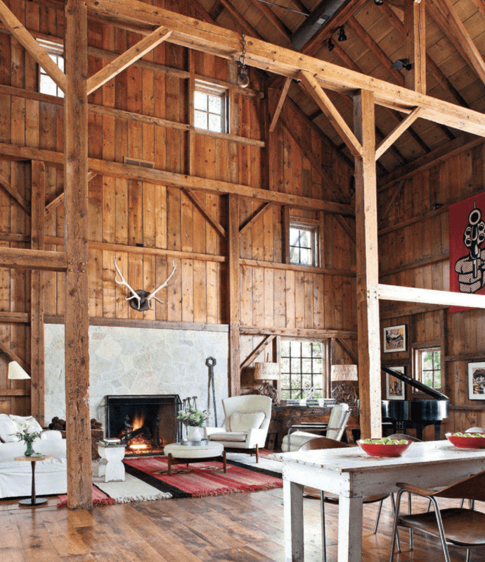 Old Barn Transformed Into A Stylishly Modern And Fully