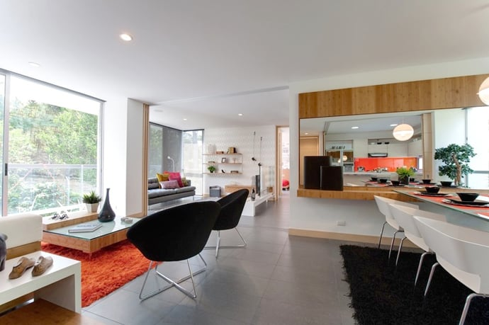 Trendy home interior designed by mao l pez for Trendy interior design