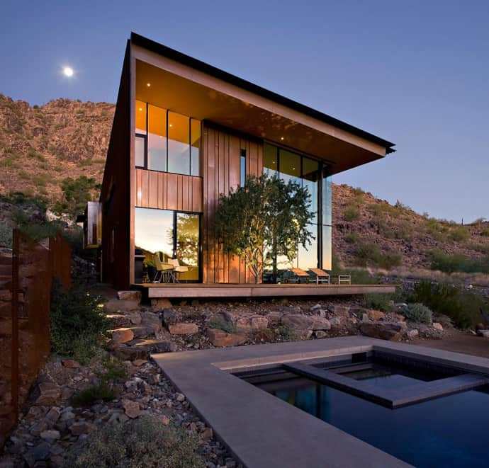 Contemporary Home Jarson Residence By Will Bruder