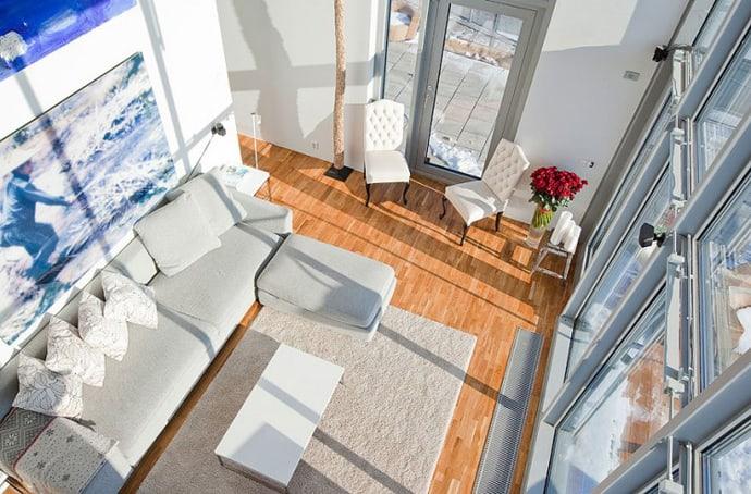 Triplex Apartment -designrulz-001