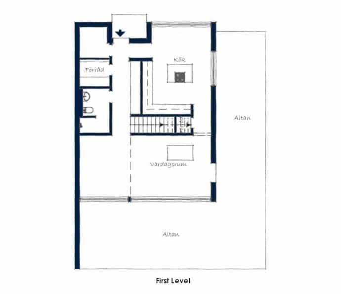 Triplex Apartment -designrulz-022