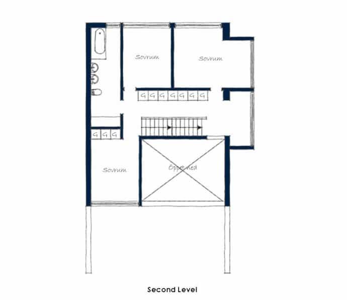 Triplex Apartment -designrulz-023