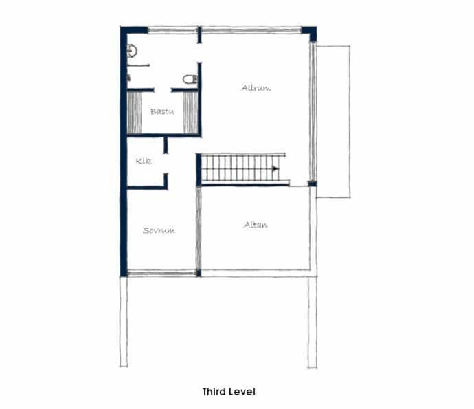 Triplex Apartment -designrulz-024