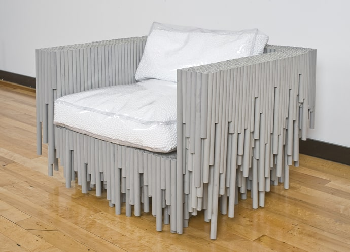 Pipe dreams 15 unexpected projects using pvc for Pvc furniture plans
