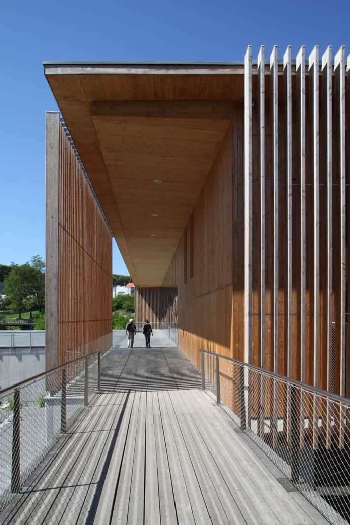 The Oloron Sainte Marie Multimedia Centre By Pascale Gu 233 Dot