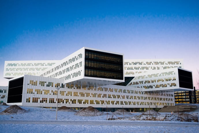 Statoil Hydro Oslo Office By A Lab