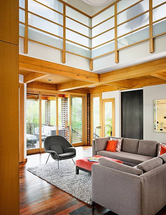 Beautiful Interiors With Asian Influences Tarrytown Residence By - Beautiful interiors with asian influences tarrytown residence by webber studio architects
